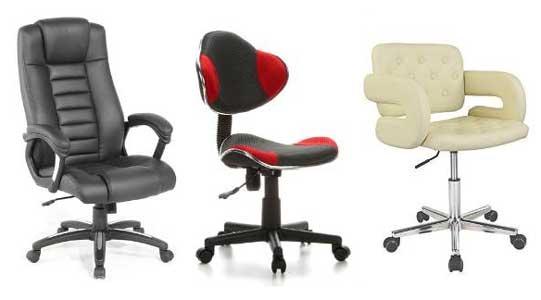Chaise De Bureau Avec Ou Sans Roulettes