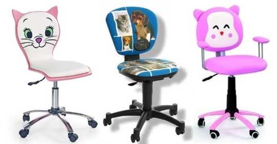 Une grande variété de chaises de bureau pour enfant