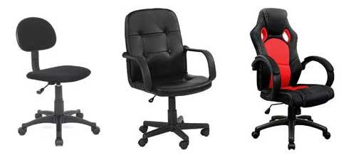 Toutes les chaises de bureau