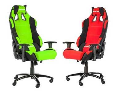 Des fauteuils de gaming colorés