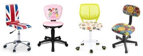 Une multitude de fauteuils pour les enfants