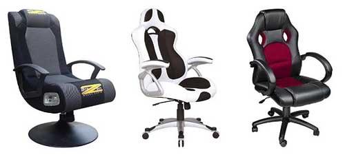 Des fauteuils de bureau dédiés au gaming