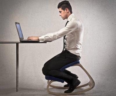 Siège assis-genoux pour ordinateur